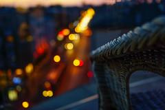 Luci all'imbrunire (mariateresa toledo) Tags: cracovia krakow polonia poland luci lights bokeh sedia chair attico loft sonnarte1824 zeiss sonynex7 mariateresatoledo dsc05647