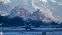 Fa-18 Hornet in Sion (brutus_ch) Tags: ralfmaurer wef wef17 sion schweiz schweizerluftwaffe switzerland fighter swissairfoce fa18 fa18hornet hornet