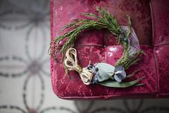({Larysa}) Tags: christmas deco vanidad corona decoration stilllife canon 50mm