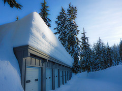 Snow at Sleepy Hollow Housing Area - Crater Lake National Park (ex_magician) Tags: snow volunteer klamathcounty craterlake nationalpark oregon moik photo photos picture pictures image lightroom adobe adobelightroom interesting sleepyhollow