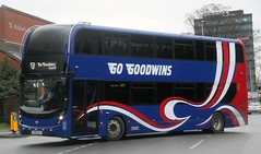 Go Goodwins, Eccles, Manchester YX66WLH returning to Lyntown depot after its morning student duty.. (Gobbiner) Tags: e400mmc gogoodwins adl yx66wlh eccles