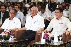 Majlis Perasmian Sistem Bas Rapid Transit Pertama Di Malaysia, BRT Laluan Sunway. (Najib Razak) Tags: malaysia pm primeminister 2015 perdanamenteri najibrazak majlisperasmiansistembasrapidtransitpertamadimalaysia brtlaluansunway