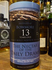 Bowmore 13yo NECTAR of The DAILY DRAMS 51.9% (eitaneko photos) Tags: tokyo march bottle daily single whisky nectar cl bowmore malt the 2014 519 drams 13yo
