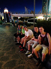 2014-06-18-Pic02-TheVegasStrip (junglekid_jared) Tags: friends jared josh 2014 lanephillips ©chrisphillips