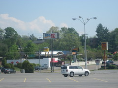 Sonic & Kmart Sign (Random Retail) Tags: sign retail bristol restaurant store tn sonic drivein kmart 2015