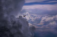 Cloud formations (zacharymandrews) Tags: kite girl clouds daydreams wwwzacphotocom zacharymandrews