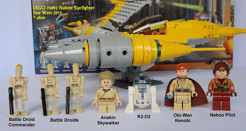 Star Wars LEGO 75092 Naboo Starfighter - a photo on Flickriver