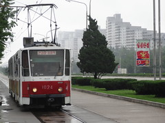 Pyongyang, DPRK (North Korea) (Russardo) Tags: north tram korea northkorea pyongyang dprk