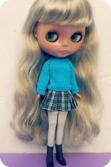 For more info, read the description ~ Aglae looking pretty in blue