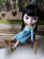 Blythe dresses with knitting tops