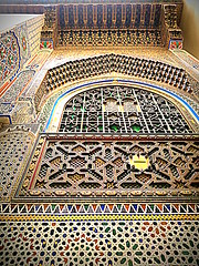 marrakech architecture (deeptipahwa) Tags: architecture northafrica morocco tiles moroccon colorfulwalls