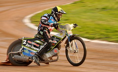 Leicester Lions v Lakeside Speedway (Alex Hannam) Tags: max sport leicester bikes motorbike panning speedway fricke leicesterlions