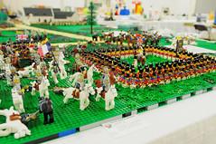 VA BrickFair 2015 The Battle of Waterloo (EDWW day_dae (esteemedhelga)) Tags: lego bricks minifigs moc afol minifigures edww thebattleofwaterloo daydae esteemedhelga vabrickfair2015
