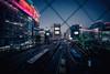 Shibuya, Tokyo (hidesax) Tags: dusk street shibuya tokyo japan wired window crossing hidesax sony a7ii voigtlander 10mm f56