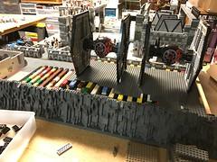 Starkiller base mountain update (Carson Tate) Tags: lego star wars moc wip starkiller base awakens force episode 7 seven iiv