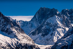 Chamonix-Mont-Blanc, France (Wolfhowl) Tags: montblanc france frenchalps montblancmassif landscape winter chamonix alps travel mountains шамоні франція 2016 europe alpinemountains chamonixmontblanc