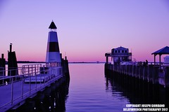 First Night Sky Of 2017 In Port Jefferson, NY (DelayInBlock Photography) Tags: long island port jeff jefferson water docks pier sky purple photography canon 60d 2017 outdoors lighthouse sound sunset night dusk new years day
