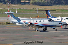 Pilatus PC12/45 EC-ISH Private (EI-DTG) Tags: aircraftspotting planespotting malagaairport malaga agp 17nov2016 spain ecish pilatus pc12