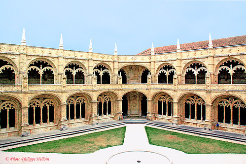 Lisbonne ©Cloitre du Monastère dos Jerónimos