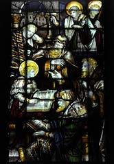 Christ in the Temple (Aidan McRae Thomson) Tags: southwell minster cathedral nottinghamshire stainedglass window victorian kempe