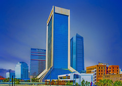 Wells Fargo Center, 1 Independent Drive, Jacksonville, Florida, USA / Architect: KBJ Architects / Completed: 1974 / Architectural Style: Modernist (Jorge Marco Molina) Tags: wellsfargocenter 1independentdrive jacksonville florida usa kbjarchitcts 1974 modernist duvalcounty historical city cityscape urban downtown skyline centralflorida centralbusinessdistrict skyscraper building architecture commercialproperty cosmopolitan metro metropolitan metropolis sunshinestate realestate commercialoffice modernism postmodern modernarchitecture mainstreetbridge