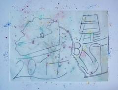 All the Best 2017 - New Years Wishes for all of you (written on my planning for today afternoon)  Neujahrs Wünsche für euch alle - auf meiner Planung für den Nachmittag des 31. 12 .2016 (hedbavny) Tags: pastell kreide pastel pastellkreide fleur blume flower floral blühen verblühen plan planung soft glückwunsch karte postkarte mail mailart paper papier schrift typographie kalligraphy calligraphy blue blau türkis turquoise braun brown bunt colorful farbig farbenfroh pink rosa violett violet green grün grey gray grau red rot orange gelb yellow brösel krümel crumps transparent neujahr newyear happynewyear silvester sylvester jahreswechsel prosit diary tagebuch spiegel mirror pencil blei bleistift wien vienna austria österreich hedbavny ingridhedbavny ornament handschrift letter