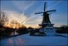 Fram  te Woltersum (Sawmill) (TeunisHaveman) Tags: groningslandschap landscape landschap tenboer woltersum winter20102011 mills molens sunset zonsondergang 100 500 1000 panoramio501850444565297 winter