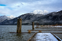 Pitt Lake & Pitt-Paddington Marsh (SonjaPetersonPh♡tography) Tags: pittmeadows pittlake pittpoulder pittlakemarina pier docks mountains goldenearsmountain goldenears landscape mountainlandscape boats lake britishcolumbia canada nikond5200 nikon boating marina winter 2017