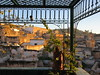 Roof terrace framing medina at sunset, Fez, Morocco (Paul McClure DC) Tags: fez morocco almaghrib dec2016 fès medina fesalbali historic architecture