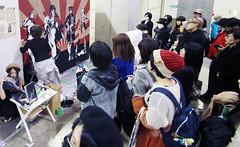 Crowds at Design Festa (Design Festa) Tags: tokyo tokyobigsight designfesta designfestavol44 artfestival artevent artfair convention japaneseartfestival japaneseconvention japanese crowds people art line japanesepeople