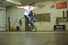 This is Flatland (Sekimpic) Tags: bmx flaland timemachine brakeless coloradosprings colorado indoor flash canon canoneos5dmarkiii ef50mmf14 ef50mmf14usm