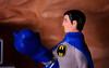 Time to become the night (Decepticreep) Tags: brucewayne mego batman batcave batcomputer removablecowl gotham