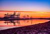 Sunrise Southampton Docks (crhobbs89) Tags: docks sea beach container crane port southampton ship sunrise water landscape seascape reflections