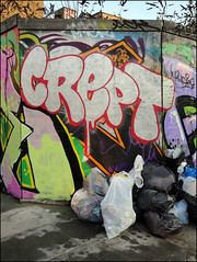 Crept (Alex Ellison) Tags: crept cbm eastlondon hackneywick urban graffiti graff boobs