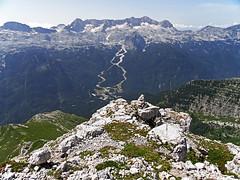 Kanin from Monte Cregnedul (Vid Pogacnik) Tags: italy italia julianalps outdoor hiking landscape mountain montecregnedul panorama kanin canin