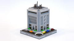 Government Building (Magnus the Great) Tags: lego micropolis microscale pluppsala swebrick