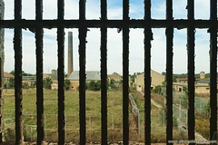 Behind Bars. More here: http://www.placesthatwere.com/2016/11/inside-joliet-correctional-center-abandoned-prison.html #prisonbars #rust #abandoned #locked #architecture #abandonedplaces #abandonedbuilding #illinois #decay #urbex #urbanexploration #eerie # (placesthatwere) Tags: abandoned urbanexploration ghosttowns urbex rurex abandonedplaces forgottenplaces urbandecay decay beautifuldecay