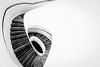 Spin Cycle (Sean Batten) Tags: damienhirst newportstreetgallery vauxhall london england unitedkingdom gb spiral staircase nikon d800 1424 blackandwhite bw city urban architecture