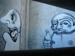 Frogwalk TireBeach 031 (quasistoic) Tags: frogwalk graffiti streetart urban sanfrancisco meetup twist barrymcgee cocoons