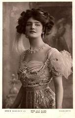 Lily Elsie (ART NAHPRO) Tags: vintage photo elsie merrywidow edwardian beautiful lilyelsie postcard lily