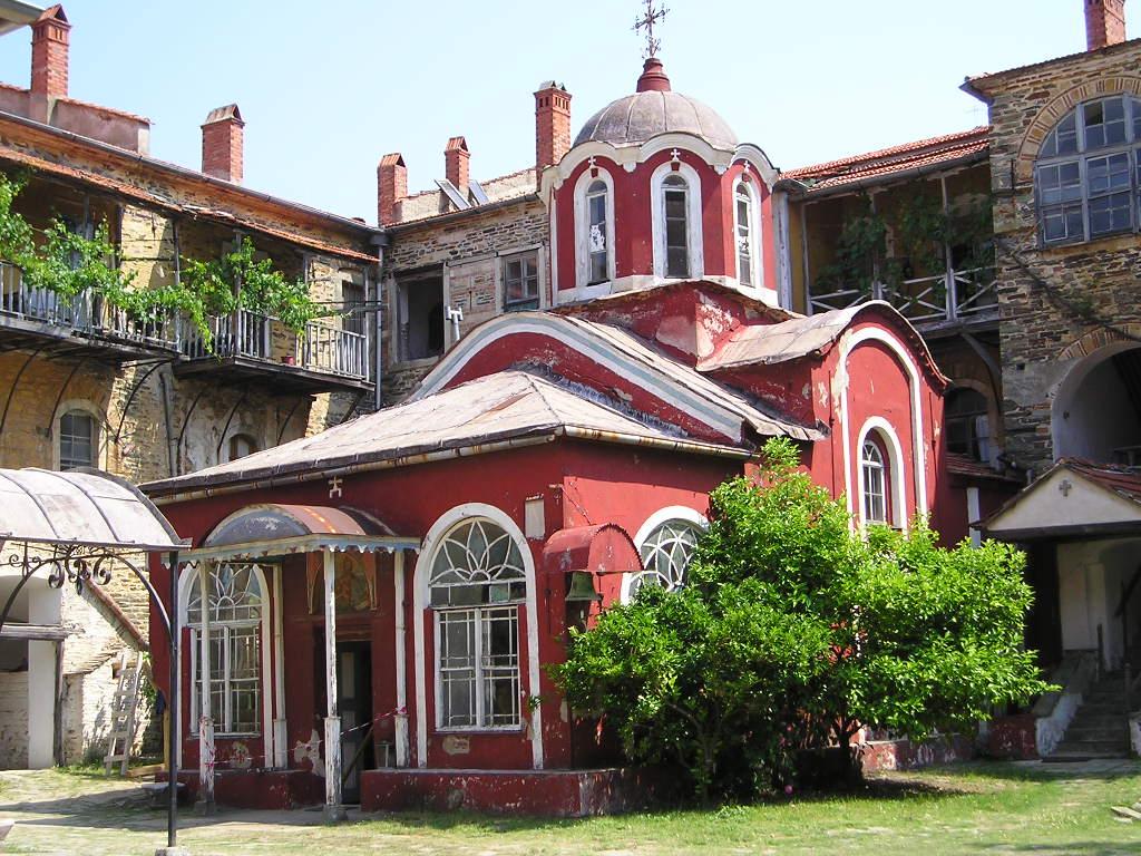 Chapel, Iviron Monastery