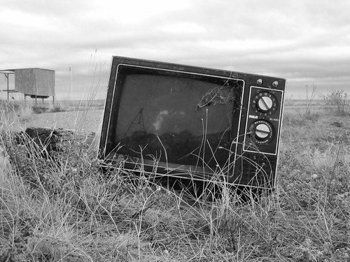 Forgotten television by autowitch, on Flickr