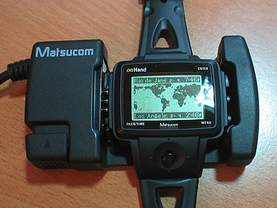 onHand PC Watch serial dock