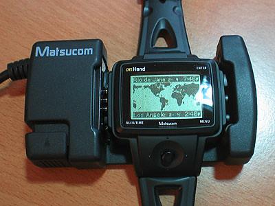 onHand PC Watch serial dock