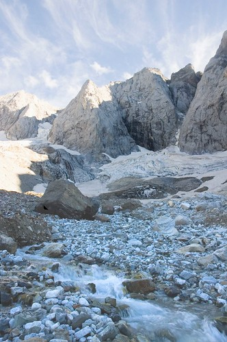 Glacier at  Oulettes de Gaube