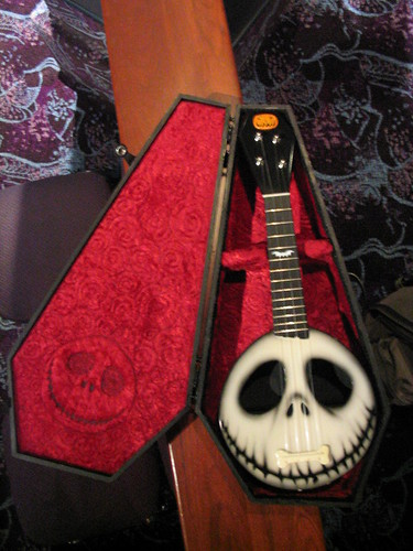 Nightmare Before Christmas custom ukulele - a photo on Flickriver