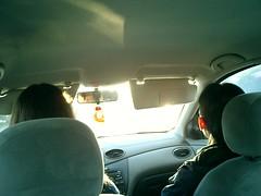 driving to YE (iBjorn) Tags: ye shawnda lu