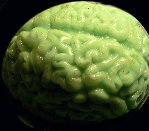 Lime Jello Brain Photo by Elisabeth Feldman
