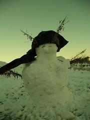 Rasta snowman