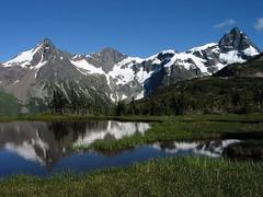 Happy Meadow Dome & Space Point Peak (Alpine Climber) Tags: mountain mountains alpine meadow meadows bc britishcolumbia canada coastmountainrange nusatsumdivide spacepointpeak happymeadowdome